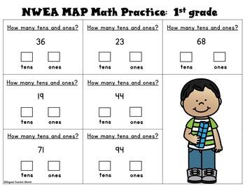 NWEA MAP Reading and Math SAMPLE FREEBIE