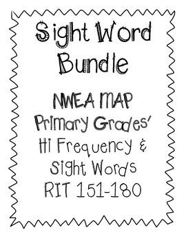NWEA MAP Sight Word Bundle