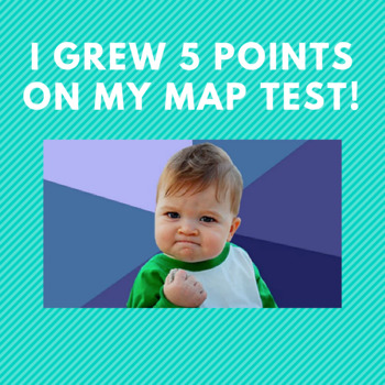 Test Growth - Student Celebration Template