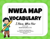 NWEA MAP Test Practice Vocabulary Game (Math RIT 191-200)