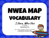 NWEA MAP Test Practice Vocabulary Game (Reading RIT 201- 210)