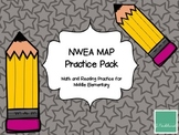 NWEA MAP Test Prep Middle Elementary- Distance Learning