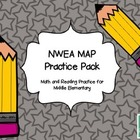 NWEA MAP Test Prep Middle Elementary