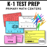 NWEA MAP Test Prep Primary Math CENTERS