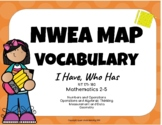 NWEA MAP Test Practice Vocabulary Game (Math RIT 171- 180)