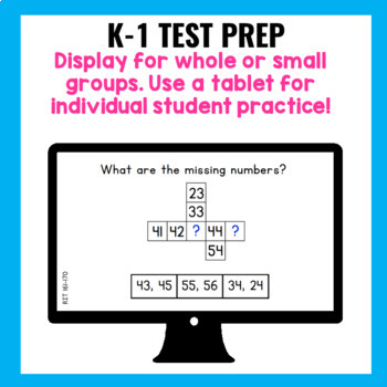 NWEA MAP Prep Testing Practice Primary Math Question and Answer Pages