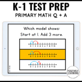 NWEA MAP Prep Testing Practice Math Question and Answer Slides