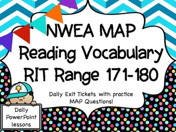NWEA MAP Vocabulary RIT RANGE 171-180 Intervention