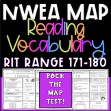 NWEA MAP Prep Test Vocabulary RIT RANGE 171-180 Practice Questions
