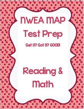 NWEA MAP test prep -- Reading and Math combo