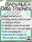 NWEA MAPs Data Tracking Sheets