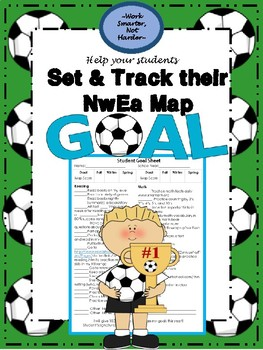 Nwea Map Student Goal Setting Sheet By Work Smarter Not Harder Tpt