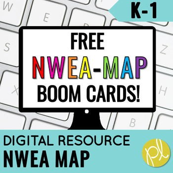 NWEA Map Test Prep Primary Reading FREE Digital Boom Cards