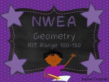 NWEA Map Test Geometry RIT 100-150