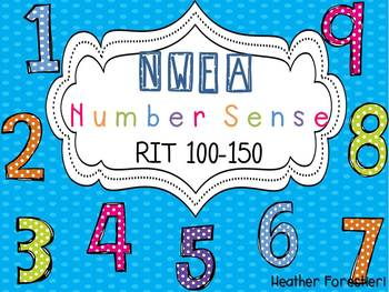 NWEA Map Test Number RIT 100-150