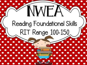 NWEA Map Test Reading Foundational Skills RIT 100-150