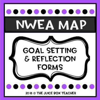 NWEA Map Testing Goals & Reflections by The Juice Box Teacher | TpT