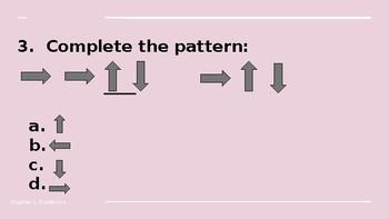 NWEA Math Questions Quarter 1