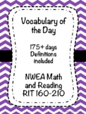 NWEA (MAP) Math and Reading Vocabulary of the Day