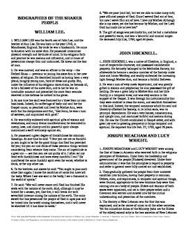 NWEA Practice Quiz using Historical Documents