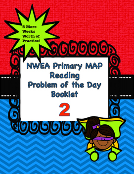 NWEA Primary MAP Problem of the Day 2 (5 More Weeks of Que