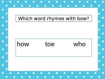 Summer School NWEA Primary Reading Foundational Skills-Rhyming & Syllabication