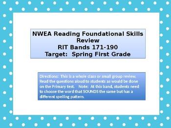 Back to School NWEA Primary Reading Foundational Skills-Rhyming & Syllabication