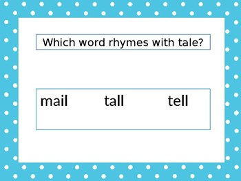 NWEA Primary Reading Foundational Skills-Rhyming & Syllabication
