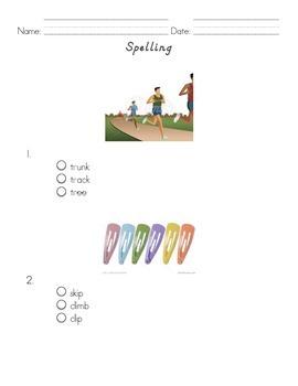 NWEA RIT 150-170 Spelling Test Prep Worksheet Freebie