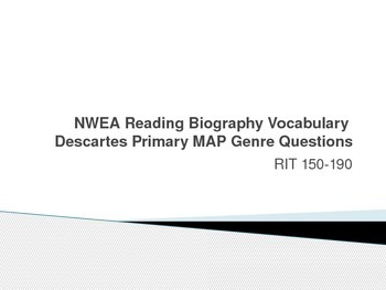 NWEA Reading Biography Vocabulary Descartes MAP Primary Review