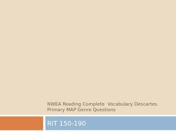 NWEA Reading Complete Vocabulary Descartes MAP Primary Review