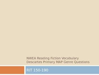 NWEA Reading Fiction Vocabulary Descartes MAP Primary Review