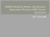 NWEA Reading Poetry Vocabulary Descartes MAP Primary Review