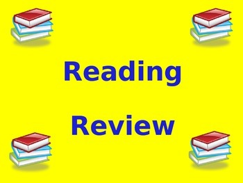 Reading and Math Standardized Test Review PowerPoints Bundle