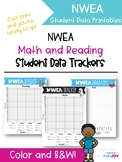 NWEA Reading and Math Student Data Trackers