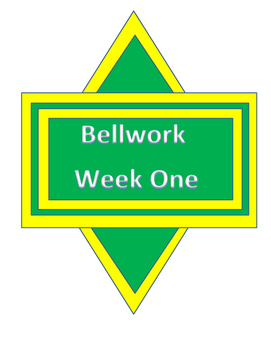 NWEA Skills Bellwork
