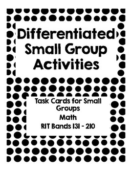NWEA Small Group Differentiated Activities