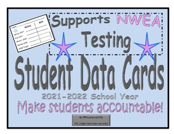 NWEA Student Data Cards... A Student Motivational Tool and Data Tracker