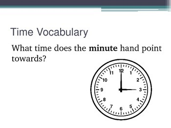 NWEA Time DesCartes Vocabulary Primary MAP Review