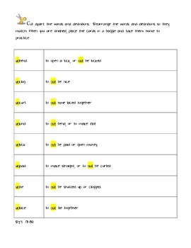 NWEA differentiated affix stations (un-)