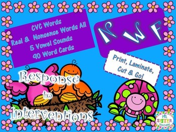 NWF April/Spring (Nonsense Word-Response to Intervention) DIBELS Practice