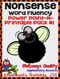 Fly Nonsense Word Fluency RTI Resource