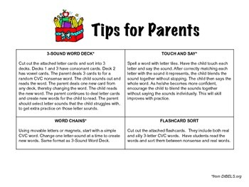 NWF Information Packet for Parents