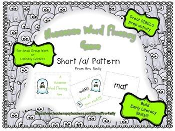 NWF Nonsense Word Fluency_Short /a/_ Fall Theme