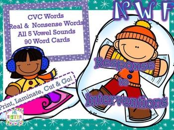 NWF Winter Game (Nonsense Word-Response to Intervention) DIBELS Practice