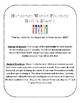 NWF nonsense word fluency roll & stamp intervention activity- Halloween candy