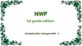 NWF shamrock theme 1st grade