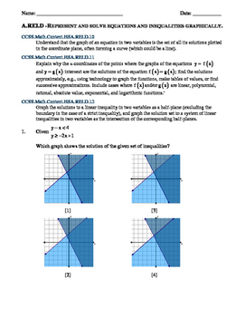 Systems of equations and inequalities test teaching resources ny common core algebra systems of equations and inequalities regents review fandeluxe Gallery