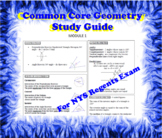 NY CC Geometry Regents Study Guide