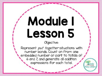 Engage NY Math Smart Board 1st Grade Module 1 Lesson 5